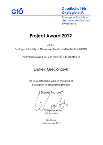 Project Award 2012